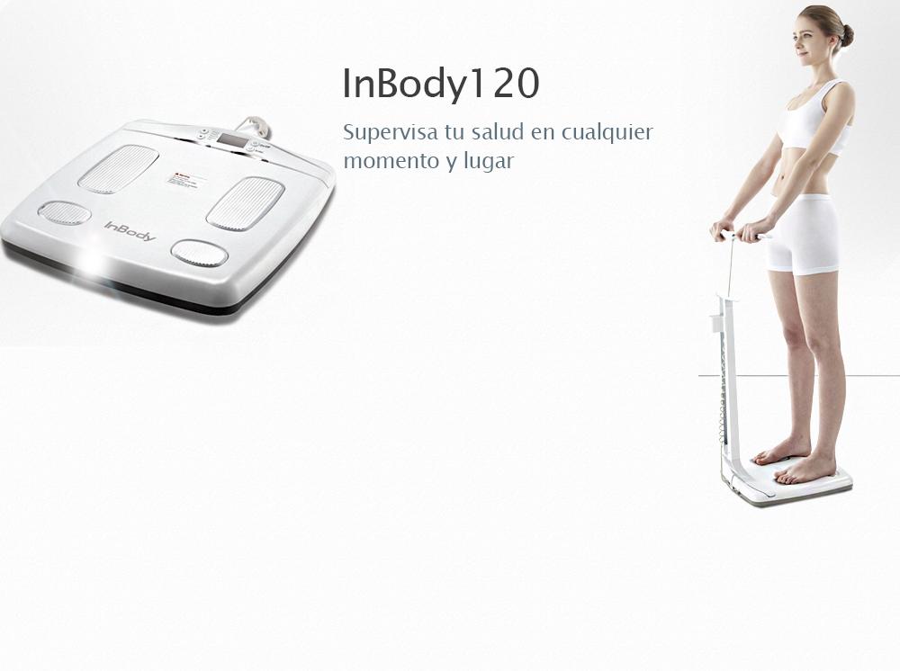 Analizador de Composición Corporal InBody 120 (tecnología con bioimpedancia)